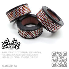 TRIPLE CD175 STROMBERG CARBIE AIR FILTER SET [HOLDEN LJ GTR-XU1 TORANA/BATHURST]