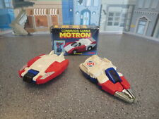 VINTAGE McDONALDS  TOMY COMMANDRONS TRANSFORMERS LOT