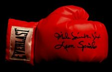 OLYPIANS LEON SPINKS MICHAEL SPINKS AUTOGRAPHED SIGNED EVERLAST BOXING GLOVE