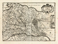 Antique Map-STICHT-UTRECHT-NETHERLANDS-Colom-1635