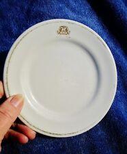 """1955 Vintage Restaurant Ware 5.5"""" Side Dish Plate: THE AMBASSADOR HOTEL"""