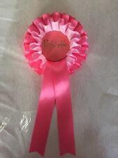 1 X Princess Rosette For Birthday Girl Etc