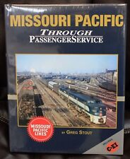 MORNING SUN BOOKS - MISSOURI PACIFIC Passenger Service In Color - HC 128 Pages