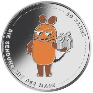 Deutschland 20 Euro 2021 - Sendung mit der Maus - 50. Jubiläum - 18 gr Silber ST