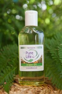 ARGAN OIL - 100% Pure and Certified Moroccan Argan Oil. 5 Sizes  (50ml to 250ml)