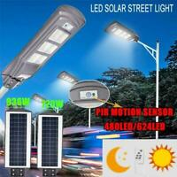 1000000LM LED Road Street Light Flood Light Outdoor Garden Yard Lamp Waterproof
