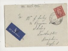 Field Post Office 352 Postmark 1947 HM Ships Mail Entire Comley Sholing 445b