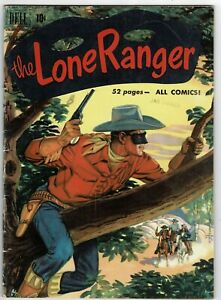 Dell - The Lone Ranger - No 33 - 1951 - SCARCE IN UK!