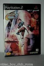 CAPCOM VS SNK 2 MILLENNIUM FIGHTING 2001 GIOCO USATO SONY PS2 ED JAPAN 37197
