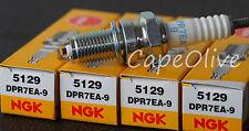 4 PCS – NGK 5129 Nickel Spark Plugs (DPR7EA-9)