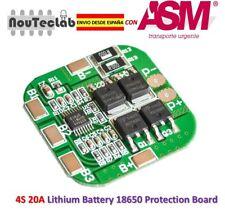 4S 20A 14.8V / 16.8V Peak Li-ion BMS PCM Battery Protection Board