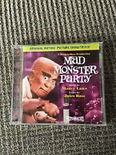 MAD  MONSTER PARTY, SUPER RARE CD SOUNDTRACK, RETROGRADE RECORDS, OOP