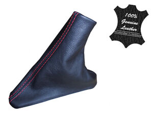 FORD SZ SZII TERRITORY LEATHER HANDBRAKE BOOT ONLY - RED STITCH
