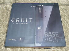 Microsoft XBOX 360 S SLIM Calibur11 Base Vault Console Custodia guscio mod in Nero