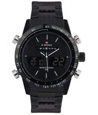 NAVIFORCE NF9124M Fashion Military Sports Stainless Steel Watch For Men
