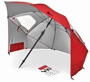 Sport-Brella Premiere UPF 50+ Umbrella Shelter for Sun and Rain Protection 8-...