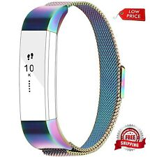 Fitbit Alta Strap Stainless Steel Magnetic Replacement Bracelet Fitnes Colorful