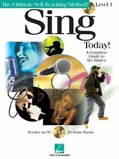 Learn How To Sing Vocal Training Beginner Sheet Muisc Book + CD Easy Guide Tutor