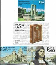 South Africa 1987 Natal Flood Relief set of 4 booklets