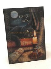 Lisa Parker Collector Tarot Jewelry Box Witching Hour Black Cat Fantasy Decor