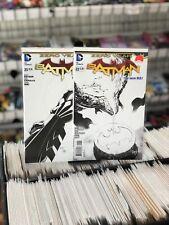 Batman New 52 22&23&24 Vol 2 Greg Capullo B&W 1:100  Variant Covers SET