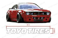 Toyo Tires Decal Windshield Banner