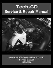 Yamaha Mountain Max 700 Service & Repair Manual MM700 SX700 2001 2002 2003 2004