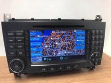 MERCEDES Benz Comand NTG2 C Classe W203 Navigatore Satellitare Lettore CD FM Stereo BE6096.