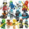 New Ninjago Minifigures Ninja Kai Cole Jay Zane Lloyd Nya Mini Action Figures