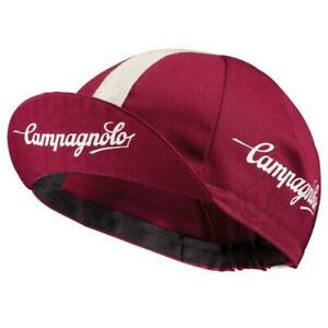 Campagnolo Sportswear Cycling Cap (one size) Made in Italy - Bike Hat, Bordeaux