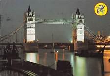 uk35104 tower bridge by night london uk
