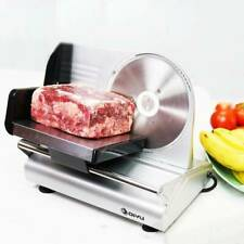 Electrical Slicing Machine Bread Frozen Meat Cutter Mutton Food Cutter 220V New