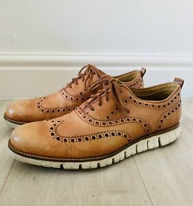 Cole Haan Zerogrand Wingtip Oxford Shoes Size 10M/9 UK