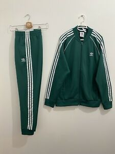 Adidas Originals Superstar Tracksuit Noble Green White Size L