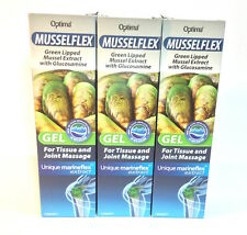 Optima Musselflex & Glucosamine Gel - 125ml  x 3