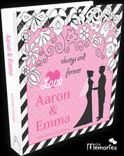 Wedding Planner/always and forever/Book/Keepsake momento/Personalised