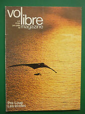 REVUE  VOL LIBRE MAGAZINE N°3 6/76 AVIATION ULTRA LEGERE ULM DELTAPLANE PRA-LOUP