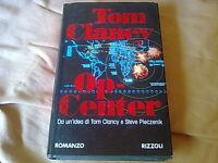 OP-CENTER - Tom Clancy - libro 1^ edizione Rizzoli 1996 copertina rigida