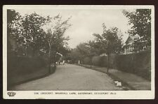 Cheshire STOCKPORT Bramhall Lane The Crescent 1912 RP PPC Grenville Series