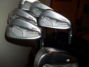 Ping S55 Partial Iron Set 4, 5, 6, 7, 8 Irons & W Wedge White Dot, Used