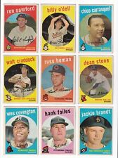 *** 1959 Topps #286 Dean Stone BV$4! No creases, Slightly soft corners ***