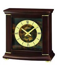 Seiko madera repisa de chimenea reloj con Westminster / Whittington