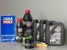 Maintenance - Set ATV SUZUKI KING QUAD LT-A 750, Service with Oil Filter, Candle