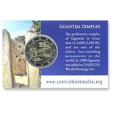 "Commémorative de Malte 2016 "" Ggantija "" BU."