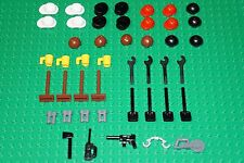 LEGO 45 x HAIR,HATS,WEAPONS/ACCESSORIES FOR MINI PEOPLE/MINIFIGURES NEW!!!