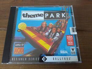 Amiga CD-Rom Theme Park a500 a600 a1200 a4000 etc. Brand new still sealed!