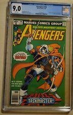 Avengers #196 CGC 9.0 WP Newsstand! 1st full app. Taskmaster (Way Undergraded)