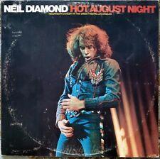Neil Diamond Hot August Night 2 LP Set MCA Gatefold Vinyl Record Album