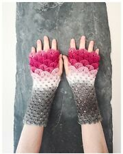 Dragon Scale Gloves/Wrist Warmers/Arm Warmer/Fingerless