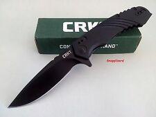 CRKT Directive 1063 Flipper Folding Pocket Knife S/steel 8cr13mov EDC Hunting